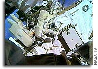Space Station Crew Restores Power to Gyroscope
