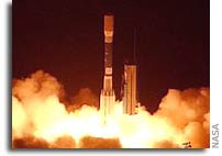 NASA Aura Spacecraft Launched