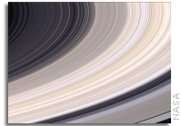 Saturn's Rings Offer A Fresco Of Color