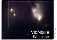 X-Ray Outburst from Young Star in McNeil's Nebula