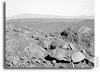 NASA Spirit Rover Martian Panorama