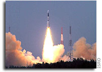 GSLV-F01 Launch Successful - Places EDUSAT in Orbit
