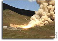 Test Leads Way for Safer Shuttle Solid Rocket Motor