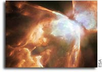 Bug Nebula, NGC 6302: Demise in ice and fire