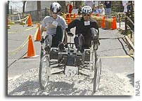 North Dakota State Triumphs in NASA's Great Moonbuggy Race