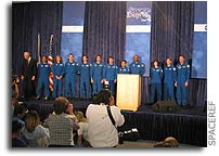 NASA Introduces Astronaut Class of 2004