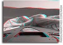 NASA Mars Opportunity Rover Stereoscopic Anaglyphs