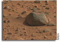 NASA Releases First Color Image of Martian Surface Taken by Spirit Rover