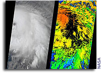 Frances, Ivan Contribute to MNASA's Hurricane Studies