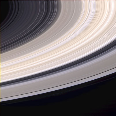 Saturns Rings Offer A Fresco Of Color