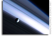 Saturn System driven by ice