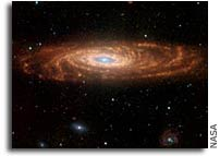 Spitzer Captures Our Galaxy's Twin
