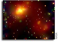 Chandra Catches Early Phase of Cosmic Assembly