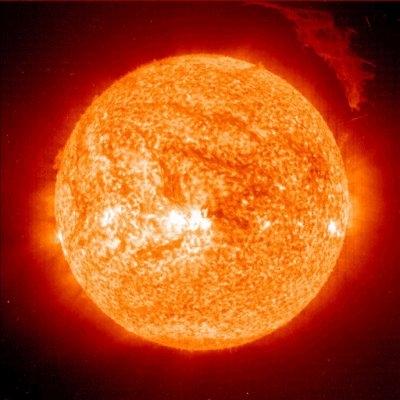 SOHO snaps spectacular Sun shot