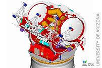 Large binocular telescope to be dedicated in October 2004