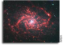 Spitzer Reveals Pinwheel Galaxy's Hidden Wonders