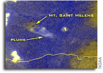 NOAA Satellites, Scientists Monitor Mt. St. Helens for Possible Eruption