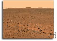 NASA Spirit's Surroundings Beckon in Color Panorama