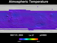 Orbit 24683atmospheric temperature map