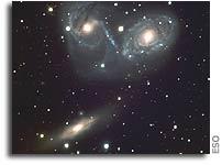 Cosmic Ballet or Devil's Mask - Galaxy Triplet NGC 6769-71