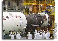 Soyuz TMA-4 Launch Preparations Continue