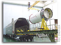 Progress M-51 Spacecraft Prepared for Launch