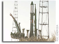 Progress M-51/Soyuz-U Launch Vehicle moved to Launch Site