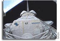 Spacehab Files Court Complaint for Losses On Space Shuttle Mission