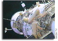 Space Station Crew Conducts EVA