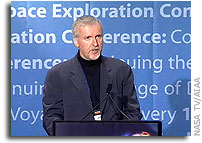 Transcript of Closing Keynote Address by James Cameron at the AIAA's First Space Exploration Conference
