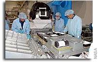 NASA Shuttle Crew Checks Out Equipment for Return to Flight MIssion