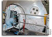 NASA Seals ISS Raffaello Logistics Module