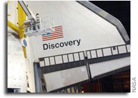 NASA to Move Space Shuttle Discovery to Vehicle Assembly Building