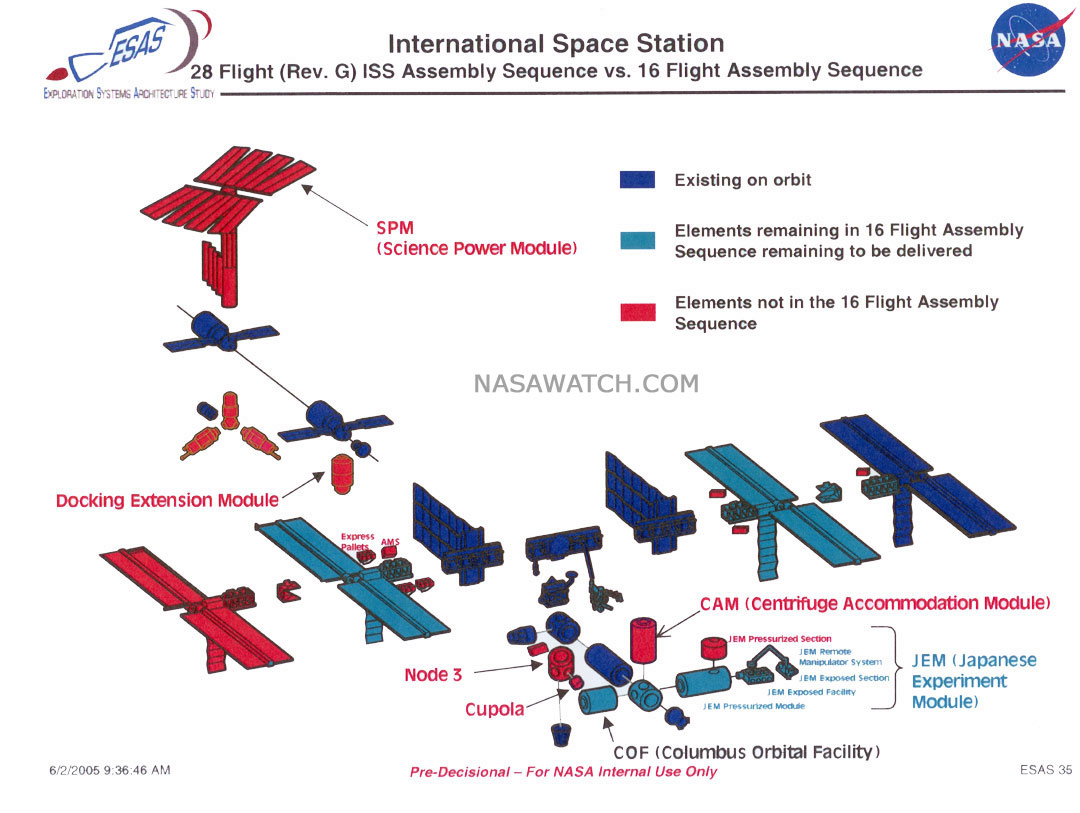 international space station assembly sequence - photo #19