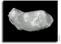 Hayabusa Hovers Near Asteroid Itokawa