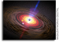 Scientists Determine The Nature of Black Hole Jets