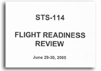 STS-114 Flight Readiness Review Charts