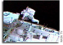 Spacewalkers Complete Repair Test