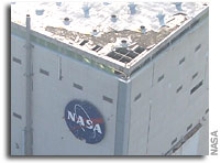 Imagery of Damage to NASA's Michoud Assembly Facility Available