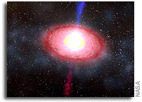 NASA Helps Solve 35 Year Old Gamma Ray Burst Mystery