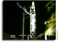 Falcon 1 Launch Scrubbed