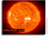 Major Solar Storm Underway