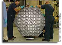 Mirror Segment for James Webb Space Telescope Delivered for Polishing