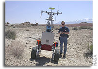 NASA to Show Intelligent Space Robots in Action at Ames Marscape
