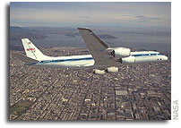 NASA and University of North Dakota Sign DC-8 Agreement