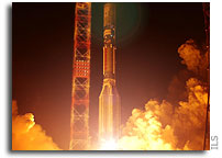 Proton Launches AMC-23 Satellite