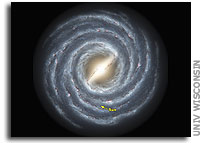 Galactic survey reveals a new look for the Milky Way