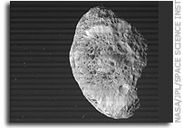Hyperion Flyby