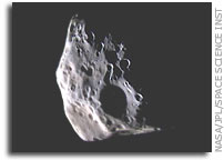 Epimetheus: Up-Close and Colorful