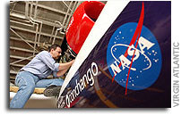 NASA Technology Supports Virgin Atlantic GlobalFlyer